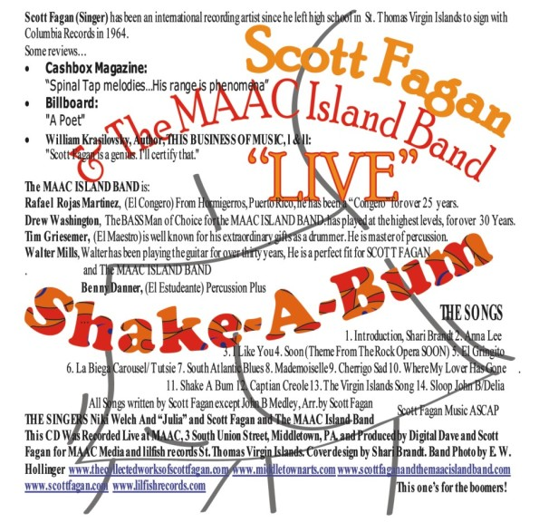 "Back Cover, ""Shake A Bum"""
